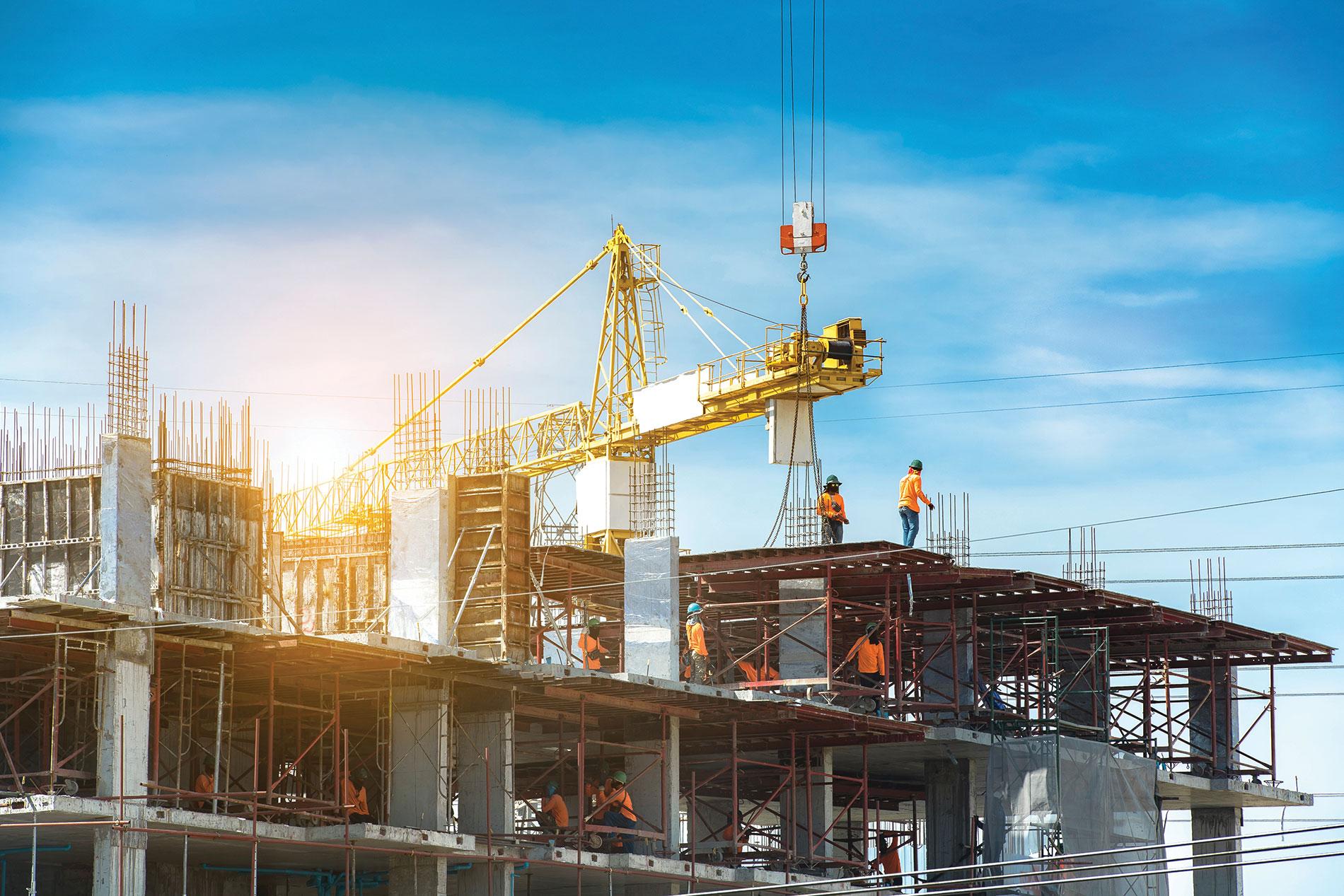 ساخت و ساز ساختمان